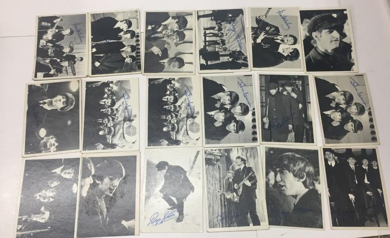 1964 TOPPS BEATLES second series CARD SET, INCOMPLETE, Condition varies