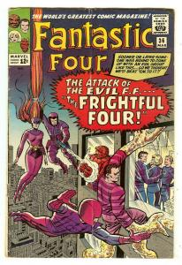 Fantastic Four 36   1st Madam Medusa & The Frightful Four