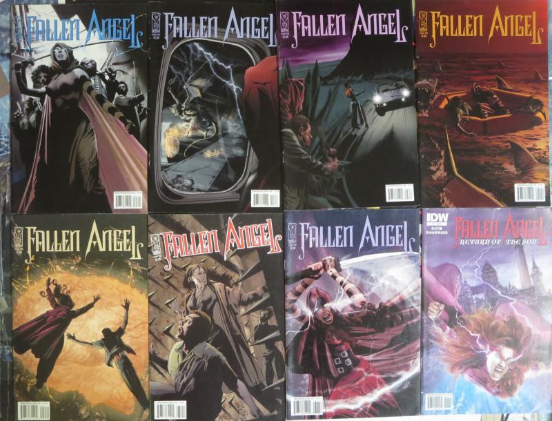Fallen Angel (IDW 2005) #1-32 Lot of 26Diff Peter David JK Woodward Moloch Rises