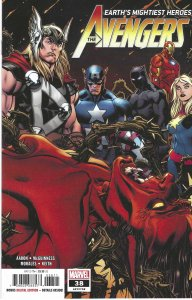 The Avengers #38 (Jan 2021) Thor, Black Panther, Iron Man, Captain Marvel & more