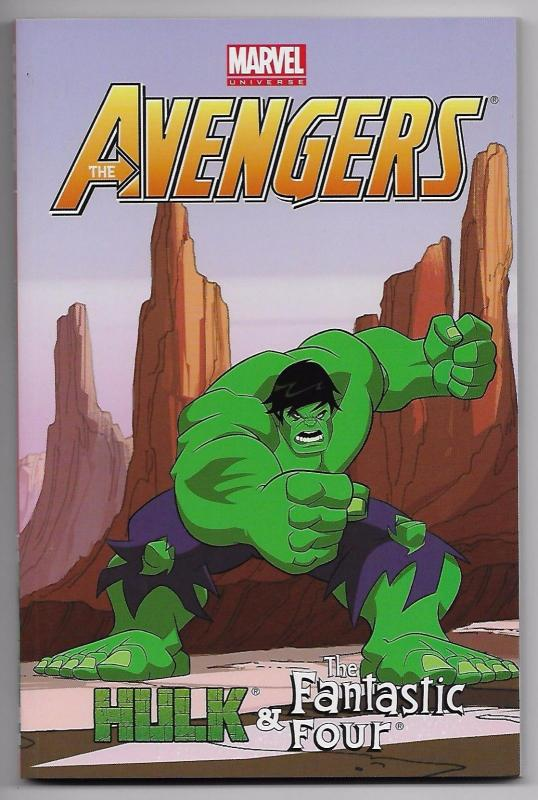 Avengers Hulk & Fantastic Four TPB Digest Collects 21-24 (Marvel) New!