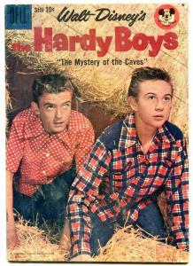 Hardy Boys- Four Color Comics #964 1958- Mystery of Caves G/VG