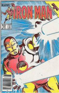 Iron Man #197 (Aug-86) FN/VF Mid-High-Grade Iron Man
