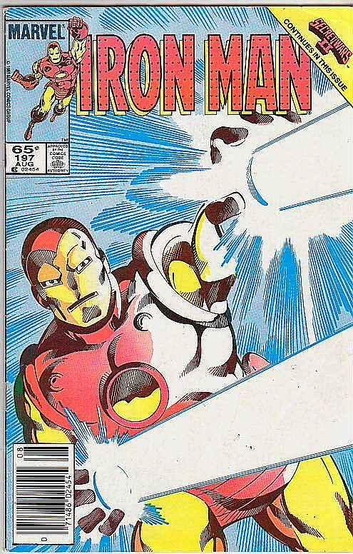 Iron Man #197 (Aug-86) FN/VF Mid-High-Grade Iron Man
