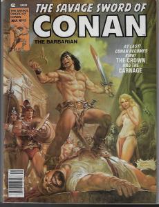Savage Sword of Conan #52