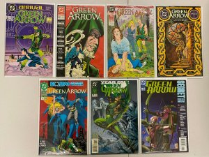 Green Arrow lot #1-7 no #6 Annual + Special all 7 diff books 6.0 FN (1988-'95)
