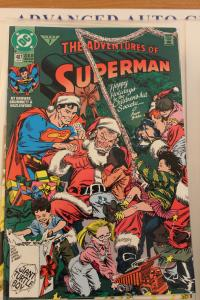 Adventures of Superman 487 VF/NM