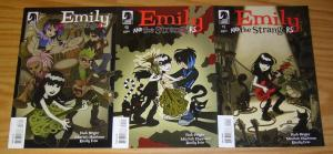 Emily and the Strangers #1-3 VF/NM complete series - emily the strange set 2 lot