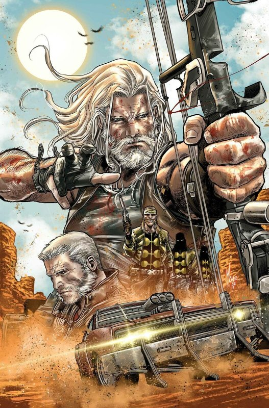 Old Man Hawkeye Poster by Checchetto (24 x 36) Rolled/New!