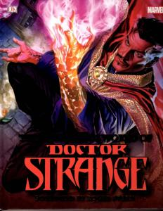Doctor Strange Mysterious World DK Hardcover Marvel Comics Graphic Novel J59