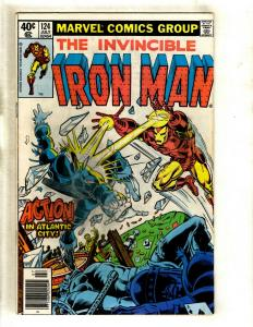 12 Iron Man Marvel Comics # 124 126 127 131 140 141 170 178 191 192 197 200 RM1