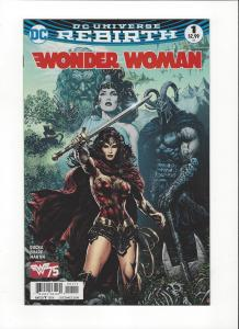 Wonder Woman #1 DC Universe Rebirth NM