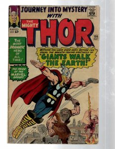 Journey Into Mystery # 104 VF Marvel Comic Book Thor Loki Odin Asgard Sif RB8