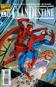 Clandestine #7 VF/NM; Marvel | save on shipping - details inside