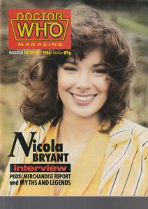 Doctor Who Magazine No. 119 December  1986