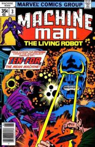 Machine Man (1978 series) #3, VF (Stock photo)