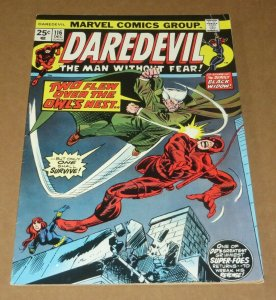 Daredevil #116 VG+ 1974 Marvel Bronze Age Comic Black Widow Owl Appearance