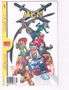 Marvel Mangaverse X-Men # 1 NM Marvel Comic Book Wolverine Magneto Cyclops S80