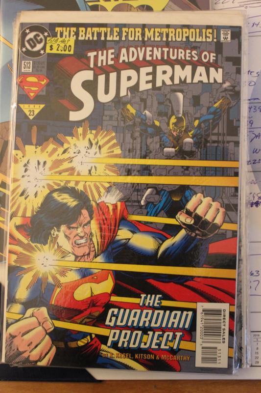 Adventures of Superman 513 9-4-nm