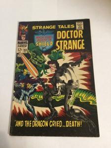 Strange Tales 163 Vg+ Very Good+ 4.5 Silver Age