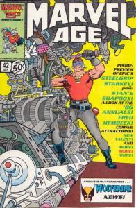 Marvel Age #42 VF/NM; Marvel | save on shipping - details inside