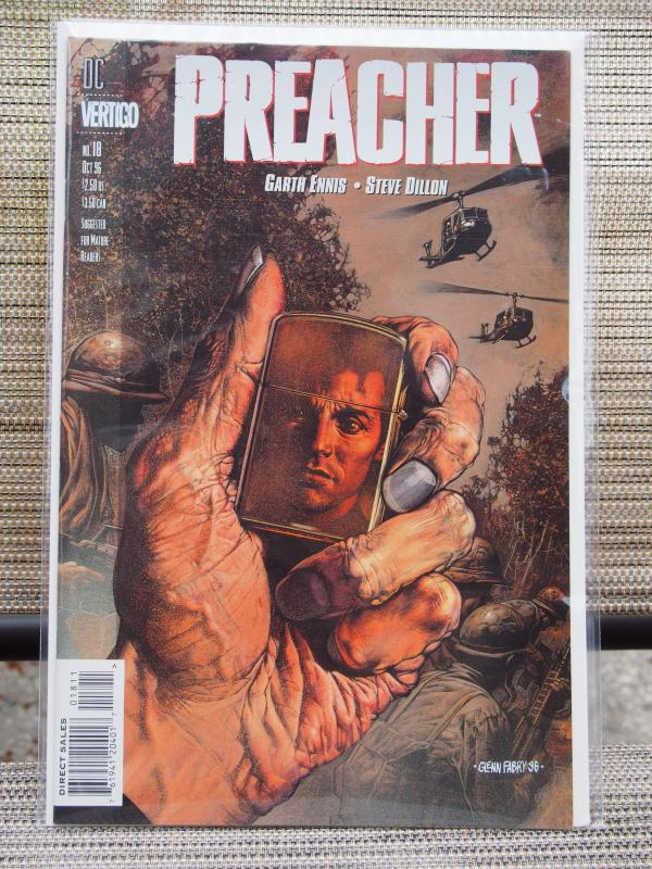 Preacher 18 VF/NM  condition.