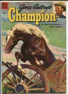 Gene Autry's Champion #18 1955-Dell-Gene's famous horse-VF MINUS