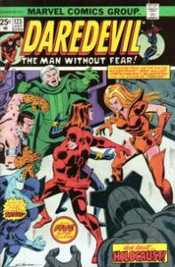 Marvel Comics Daredevil #123 Black Widow VF