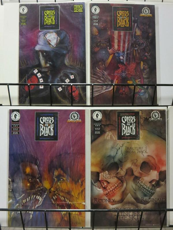 COLORS IN BLACK 1-4 from SPIKE LEE/ Dark Horse Antholog