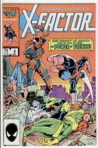 X-FACTOR #4, VF/NM. Bob Layton, Marvel Girl, Cyclops, 1986, more XF in store