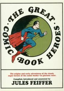 GREAT COMIC BOOK HEROES HC-WONDER WOMAN-BATMAN-SUPERMAN VG/FN