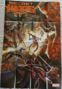 SECRET WARS Promo Poster, 24 x 36, 2015, MARVEL, Unused more in our store 192
