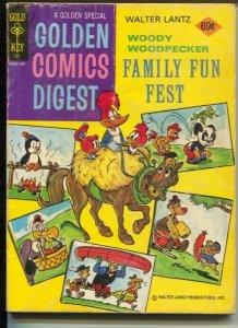 Golden Comics Digest #44 1970's-Woody Woodpecker-Andy Panda-Oswald-VG