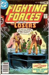 OUR FIGHTING FORCES 179 VF-NM June 1978 COMICS BOOK