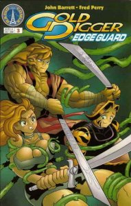 Gold Digger: Edge Guard #3 VF; Radio Comix | save on shipping - details inside