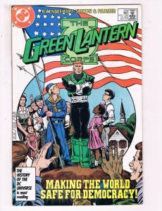 Green Lantern #210 VF DC Comics Modern Age Comic Book Guy Gardner DE21
