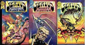SERIUS BOUNTY HUNTER (1987 BL) 1-3  COMPLETE! COMICS BOOK