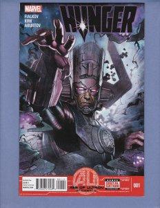 Hunger #1 NM Galactus Marvel 2013