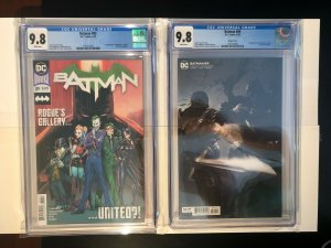 Batman #89 - 1st Cameo of Punchline and The Designer - Cover A & B - CGC 9.8