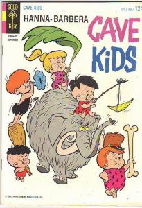 Hanna-Barbera Cave Kids #6 (Sep-64) FN/VF Mid-High-Grade The Cave Kids, Dino