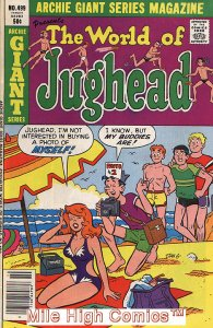 ARCHIE GIANT SERIES (1954 Series) #499 Very Good Comics Book