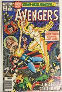 AVENGERS ANNUAL#8 VF 1978 MARVEL BRONZE AGE COMICS