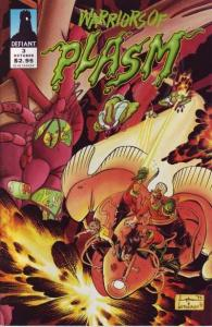 Warriors of Plasm #3, NM- (Stock photo)
