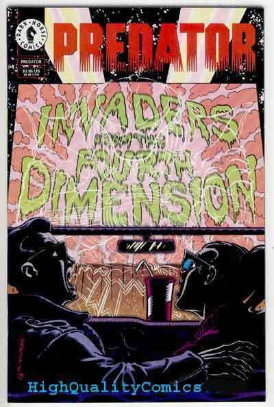 PREDATOR INVADERS 4TH DIMENSION #1, NM+, Somerville, more Indies in store