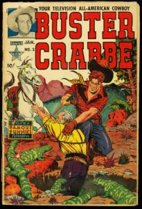 BUSTER CRABBE COMICS #2 AL WILLIAMSON GEORGE EVANS 1952 G