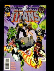 9 The New Titans DC Comics Comic Books #0 115 116 117 118 119 120 121 122 J369