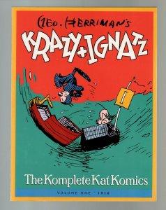 Krazy + Ignatz-Vol 1-1916-George Herriman-TPB-trade