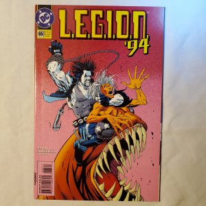 Legion 65 Very Fine+ Cover by Barry Kitson