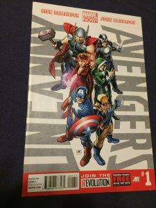 Uncanny Avengers #1 NM (2012) Marvel Now Captain America Thor X-Men (2)