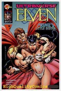 ELVEN #1, NM+, Prime's Sister, Malibu, 1995, Ultraverse, more indies in store